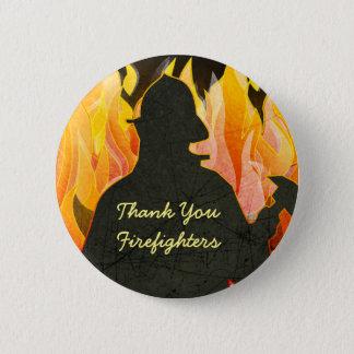 Thank You Firemen, Firewomen, Firefighter Buttons