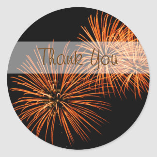 Thank You Fireworks Sticker