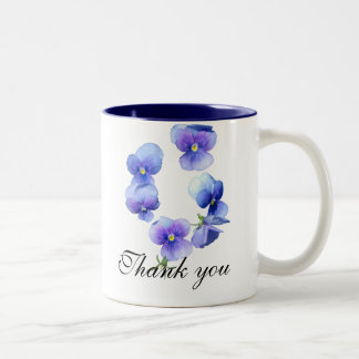 Thank you FLORAL mug