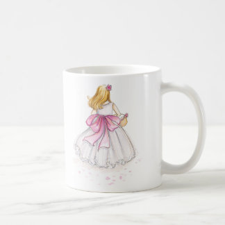 Thank You Flower Girl Blonde Coffee Mug