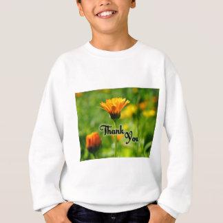 Thank You Flower Sweatshirt