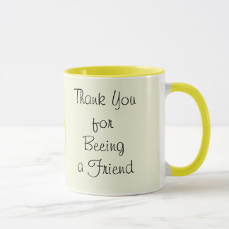 Thank You for Being (beeing) a Friend Mug