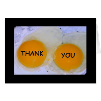 Thank You For Being Egg-stra Nice! Thank You Card