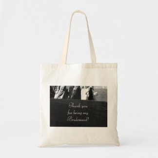 """""""Thank you for Being My Bridesmaid"""" Gift Tote"""