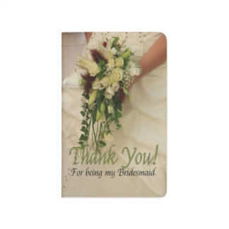 Thank you for being my Bridesmaid Journal