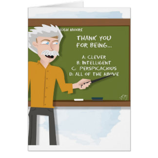Thank You for Being Smart - Thank You Card
