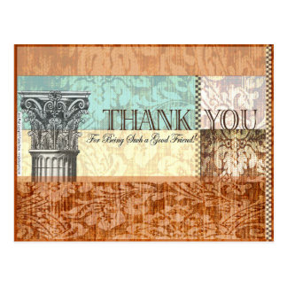 Thank you for being such a good friend - Postcard