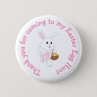 'Thank you for coming' Easter Easter Egg Hunt 2 Inch Round Button
