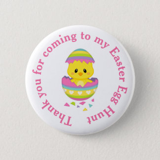 'Thank you for coming'  Easter Egg Hunt 2 Inch Round Button