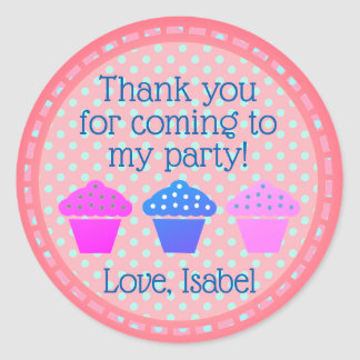 Thank you for coming to my Party Classic Round Sticker