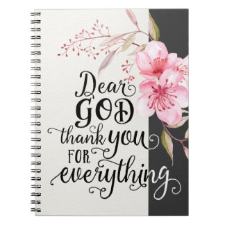 Thank You For Everything Journal Note Books