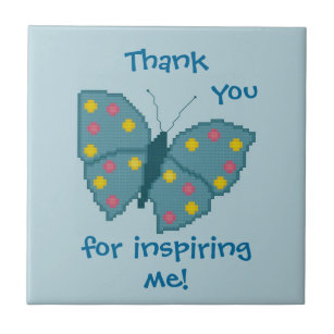 thank you for inspiring me butterfly tile