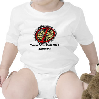 """Thank You For Not Smoking"" T-shirt for Infants"