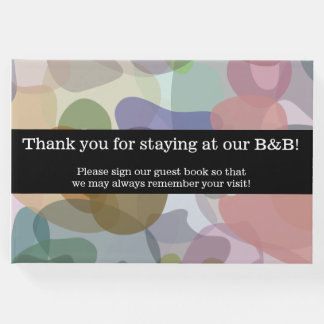 """Thank you for staying at our B&B!"" Guestbook"