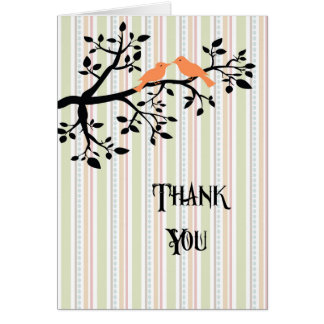 Thank You for Support Life Partner Card