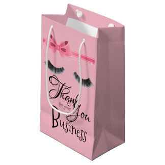 Thank You For Your Business Eyelashes Gift Bag