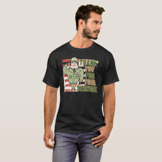 Thank You For Your Service Veterans Day Shirt