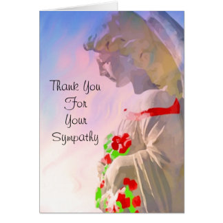 Thank You for Your Sympathy Note Card