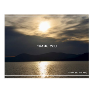 Thank You From Me to You Postcard