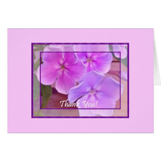Thank You From The Garden w/blank inside Card