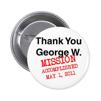 Thank You George W 2 Inch Round Button