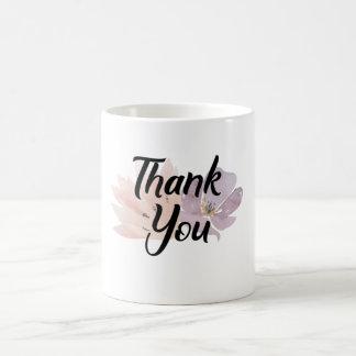 Thank You Gift Floral Coffee Mug