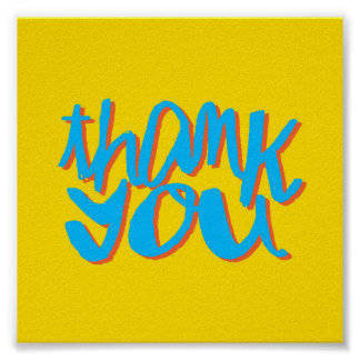 Thank You Gift Poster