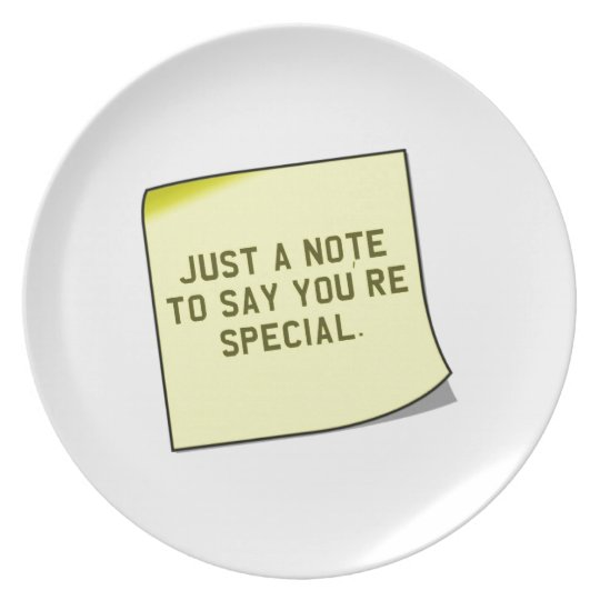 "Thank You Gift - Unique ""note"" quote Plate"