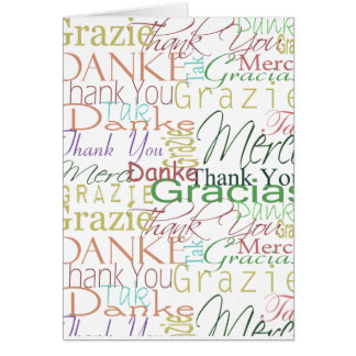 Thank You Gifts Card