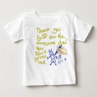 Thank You God for my Father (for boys) Tee Shirts