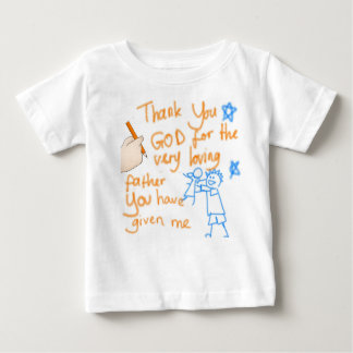 Thank You God for my Father (for girls) Baby T-Shirt