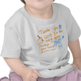 Thank You God for my Father (for girls) Tshirt