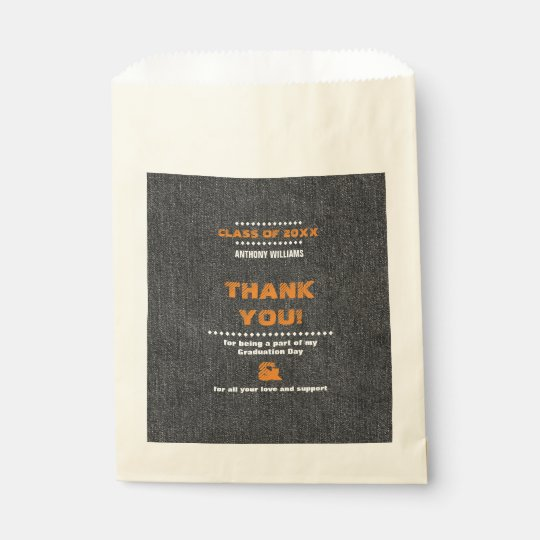 Thank You | Graduation Party Custom Favour Bags