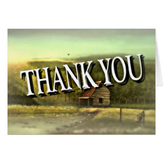 THANK YOU Greeting Card by Bob Hall