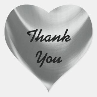 Thank You Heart Heart Sticker