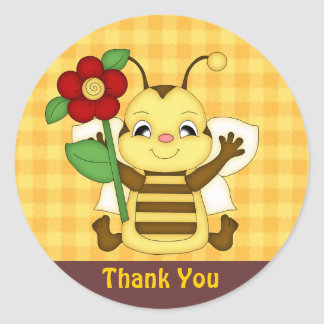 Thank You Honey Bee sticker