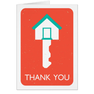 thank you housekey card