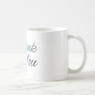 Thank You Images Classic White Coffee Mug