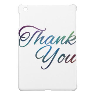 Thank You Images Cover For The iPad Mini