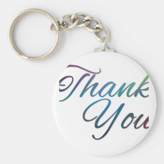 Thank You Images Keychain