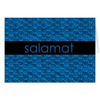 Thank You in Filipino Salamat Card