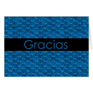 Thank You in Spanish Gracias Card