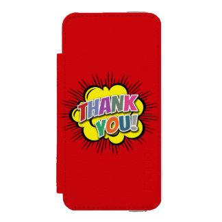 Thank You Incipio Watson™ iPhone 5 Wallet Case