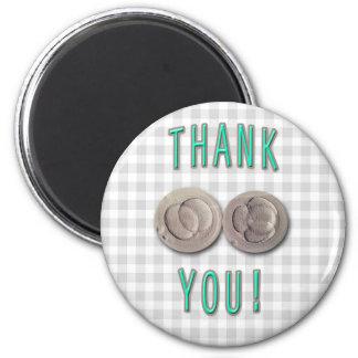 thank you ivf invitro fertilization embryos 2 inch round magnet