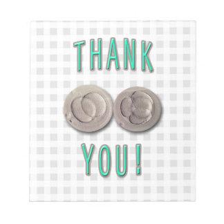 thank you ivf invitro fertilization embryos notepads