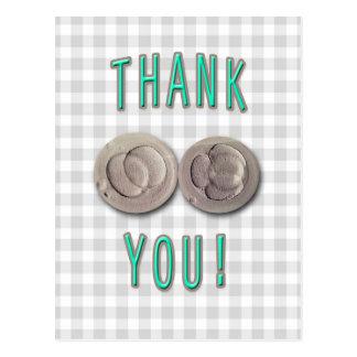 thank you ivf invitro fertilization embryos postcard