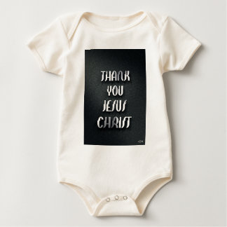 Thank You JESUS 3 Baby Bodysuit