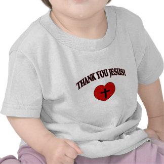 Thank You Jesus (Heart) Tshirt