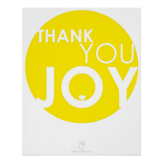 thank you JOY Poster