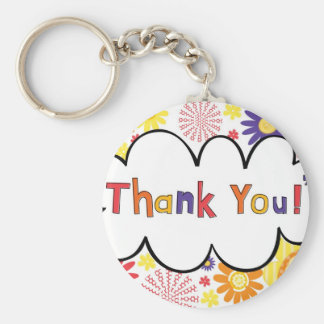 Thank You Keychain